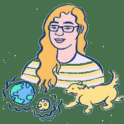 An illustration of Anna by Ashley Lukashevsky