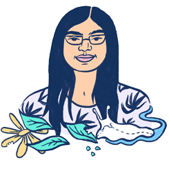 An illustration of Laura by Ashley Lukashevsky