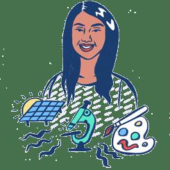 An illustration of Sona by Ashley Lukashevsky